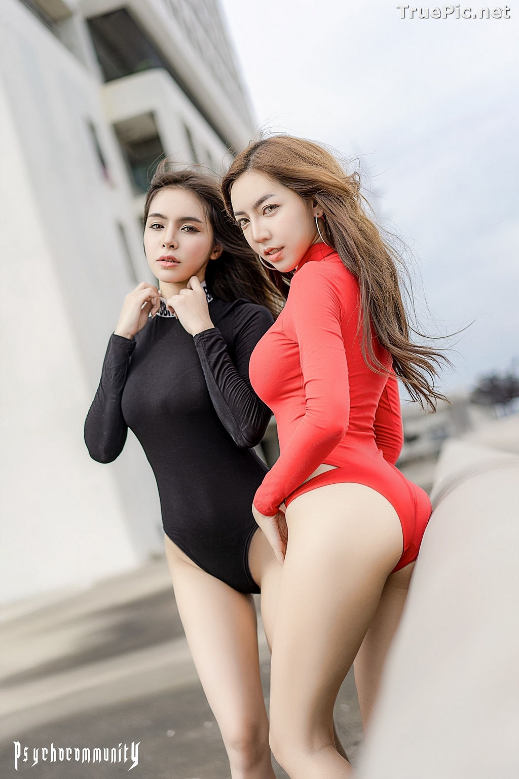 Image Thailand Model - Soithip Palwongpaisal & Champ Phawida - Black Red Concept - TruePic.net - Picture-7