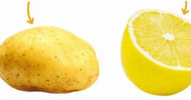 Krumpir i limun - 2 smrtonosna sastojka za bore