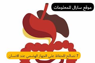 7 نصائح للحفاظ علي الجهاز الهضمي عند الانسان