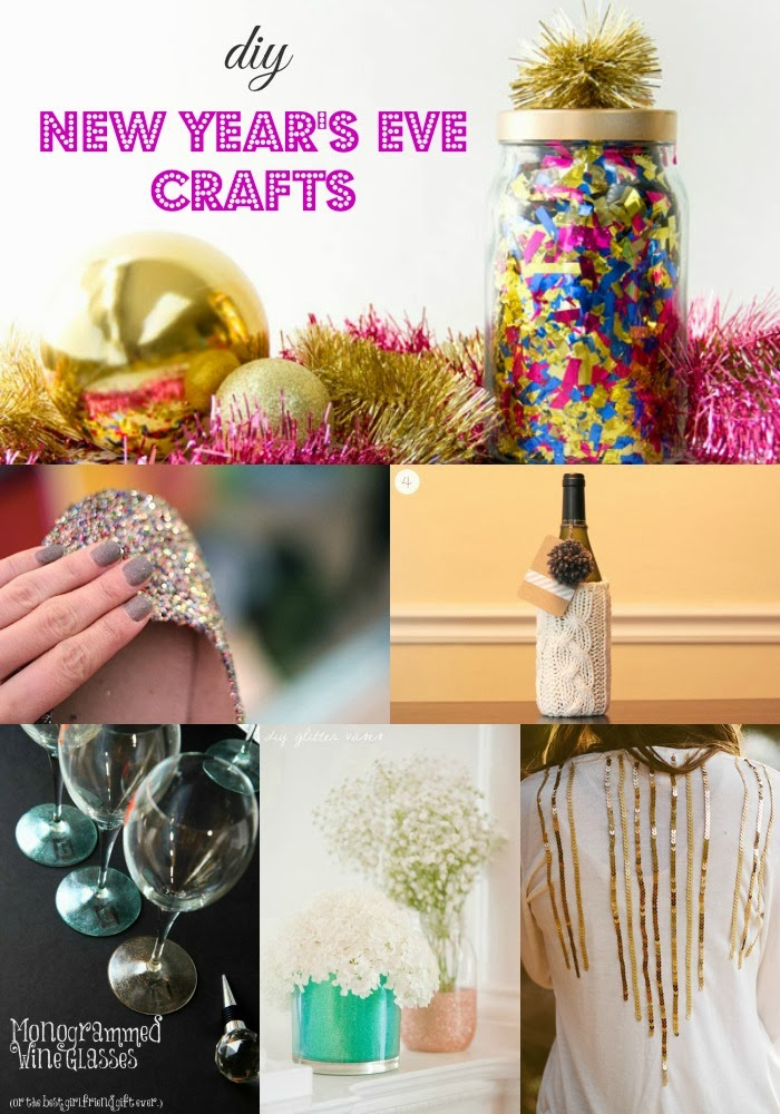 Goodwill Tips DIY New Years Eve Craft Ideas