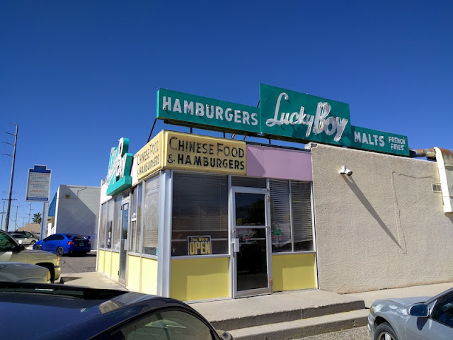Lucky Boy Chinese Food & Hamburgers in Albuquerque