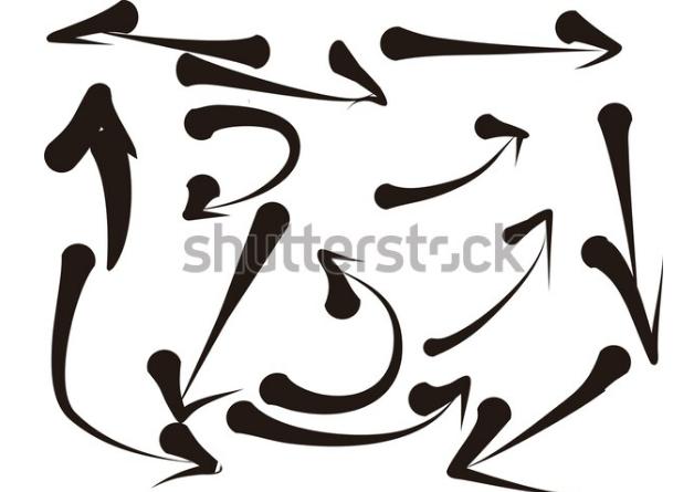 illustration portfolio arrow