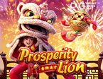 Slot PGSoft Prosperity Lion