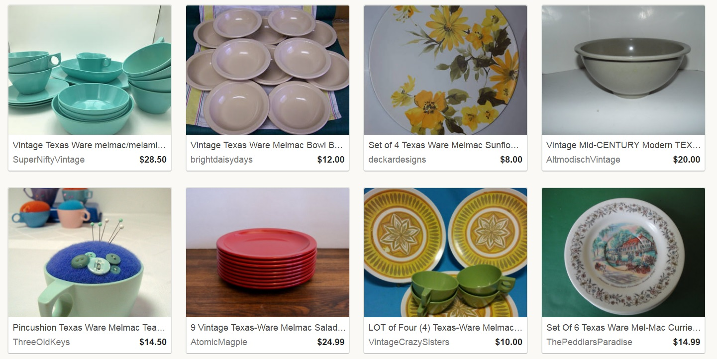 Texas Ware for Sale on Etsy