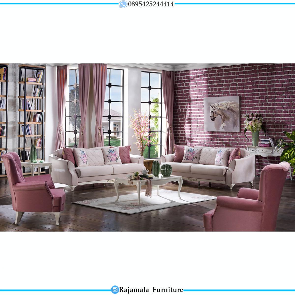 Sofa Ruang Tamu Minimalis Putih Duco Harga Terjangkau & Berkualitas RM-0626