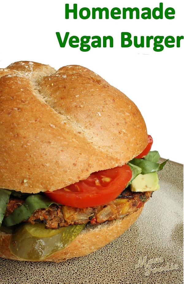 Vegan burgers healthy superfood recipe gluten free