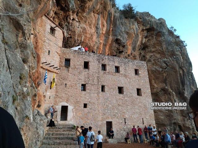 Αργολίδα: Η εορτή του Ιωάννη του Θεολόγου στο Μοναστήρι του (Αυγού) Αγίου Δημητρίου