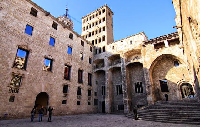 Conjunt Monumental de la Plaça del Rei em Barcelona