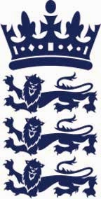 Logo of England cricket team
