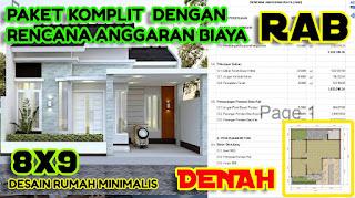 desain rumah minimalis 11x15 hijau bolu pandan - desain