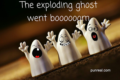 Who are you gonna call? Exploding Ghost Busters