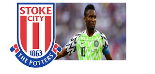 """John Obi Mikel joined Stoke City Football Club. He is the fourth signing of the summer for the club. """"The Nigerian international midfielder joins Morgan Fox, James Chester and Steven Fletcher in checking in at the bet365 Stadium ahead of the 2020/21 Championship season,"""" a statement obtained via the club's website stated."""