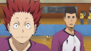 ハイキュー!! アニメ 3期1話 天童覚   Karasuno vs Shiratorizawa   HAIKYU!! Season3