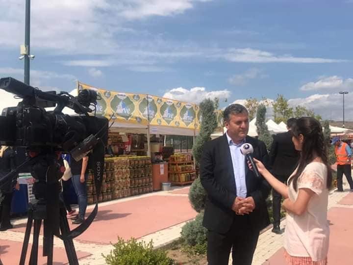 Çubuk Belediye Başkanı Av. Baki Demirbaş ile kanal B Röportajı