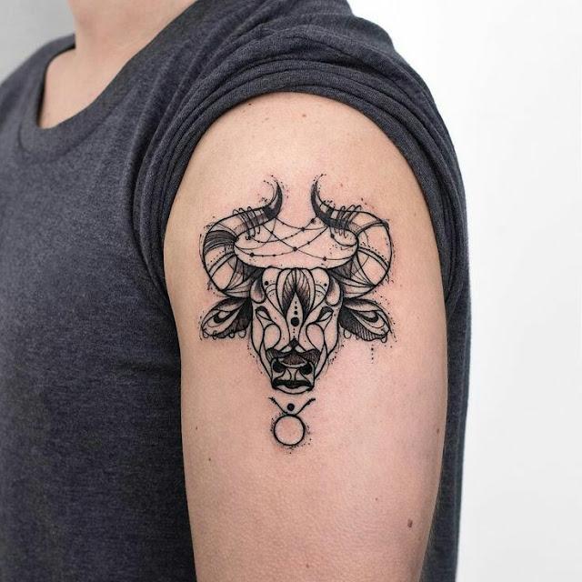 tattoo touro, tatuagem touro, tatuagem touro signo, signos, tattoo de signos