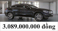 Giá xe Mercedes GLC 300 4MATIC Coupe 2021