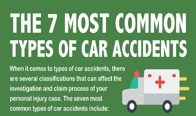 The 7 Most Common Types of Car Accident #infographic