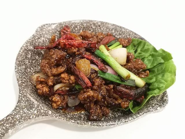 Gong Bao Mantis Prawns