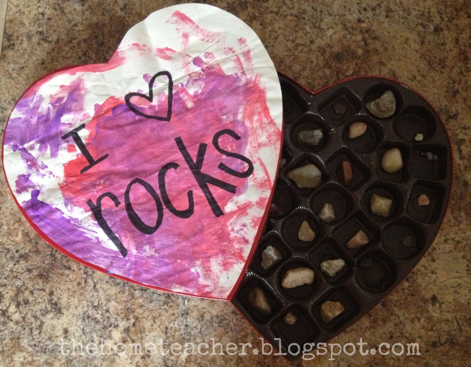 Heart Rock Collections - The Home Teacher