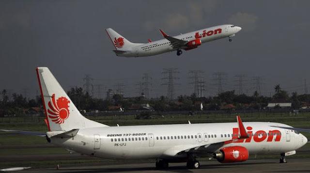Pesawat Lion Air yang Jatuh Membawa 181 Penumpang dan 7 Awak