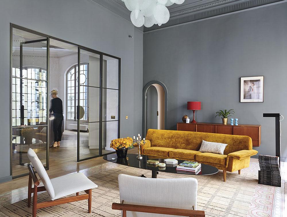 Magnificent Barcelona apartment by Eugeni Pons Architecture & Interior Design
