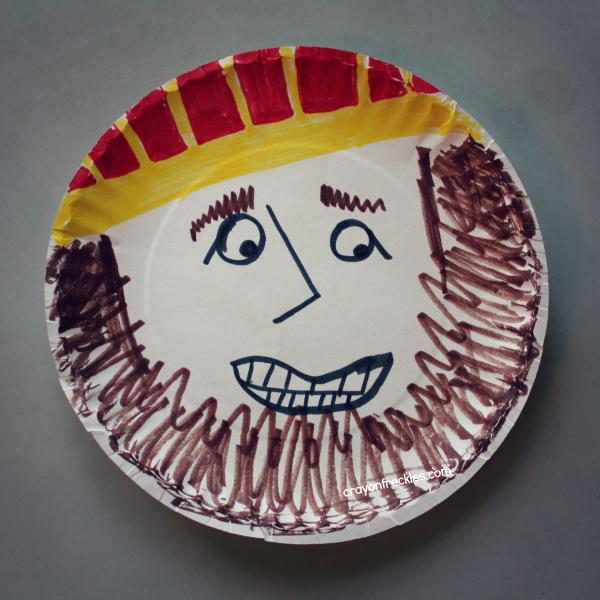 Crayon Freckles: David & Goliath Bible preschool activities