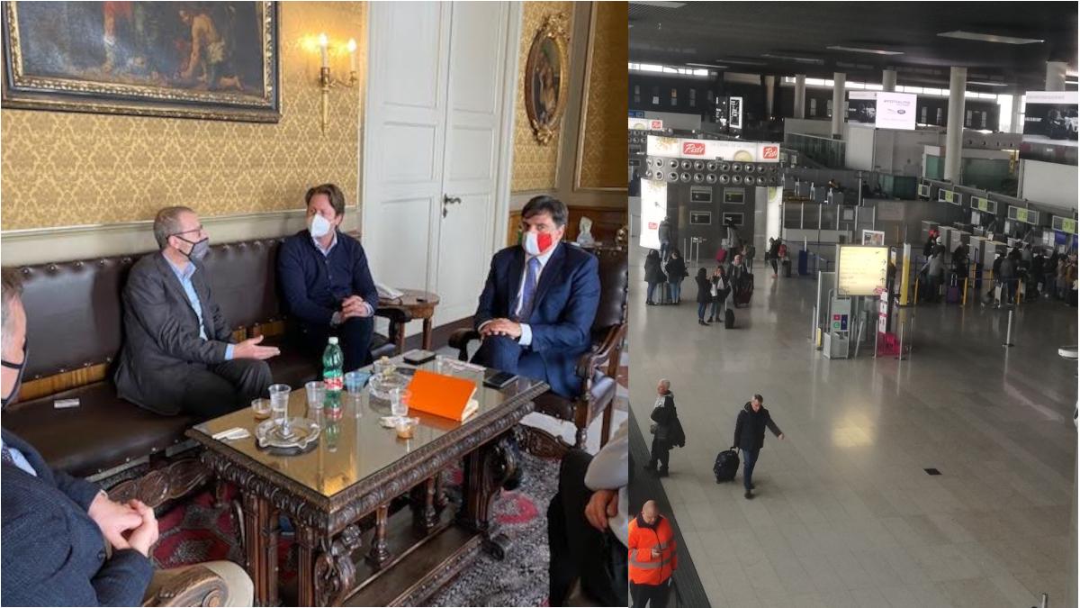 EGO airwais aeroporto Fontanarossa