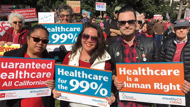 Healthy California Act SB 562 Cost Estimate: $400 Billion