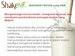 Shake Me Mengimbangi hormon badan