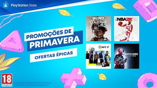 Novas ofertas épicas chegam à PlayStation®Store com a segunda vaga das Promoções de Primavera