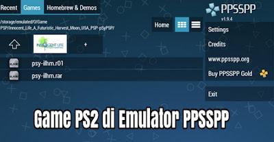 Apakah Game PS2 Bisa Dimainkan di Android dengan Emulator PPSSPP?