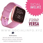 Fitbit versa – fitness and health smartwatch