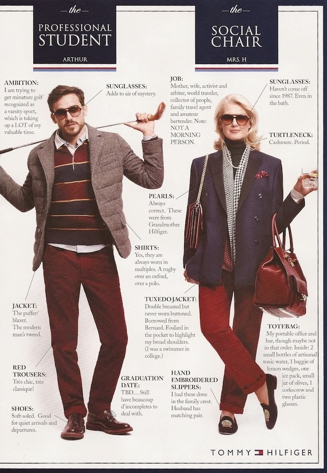 twirling clare tommy hilfiger does the preppy handbook