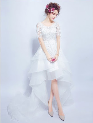 uk.millybridal.org/product/a-line-v-neck-organza-tulle-appliques-lace-asymmetrical-short-sleeve-high-low-sweet-wedding-dresses-ukm00022858-20057.html?utm_source=minipost&utm_medium=2368&utm_campaign=blog