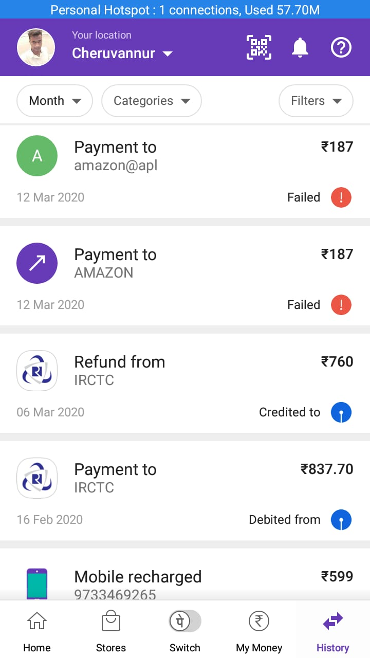 Phonepe customer care support