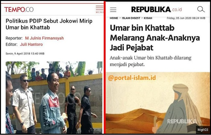 "BREAKING NEWS!! Jokowi ""GAGAL MIRIP"" Umar Bin Khattab"