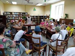 Вікторина Країна Олімпія школьный лагерь Усмішка НВК № 59 бібліотека-філія №4 М.Дніпро