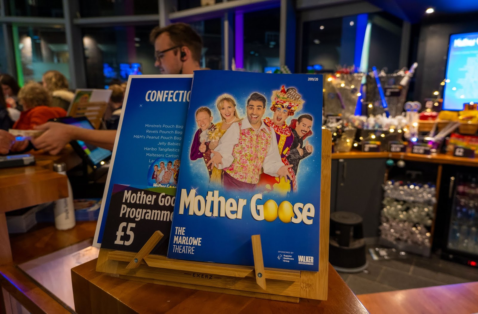 Mother Goose gift shop at the Marlowe Theatre, Canterbury