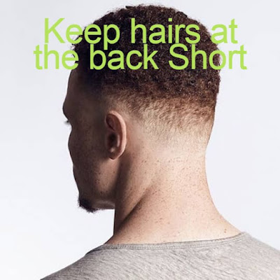 Keeping hairs at the back short is the best Curly HairStyle For man & can be Adopted in curly haircut for man.