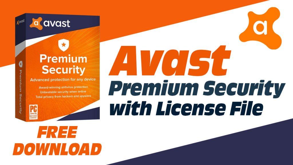 Free Download Avast Premium Security 21.2.2455 Full Version