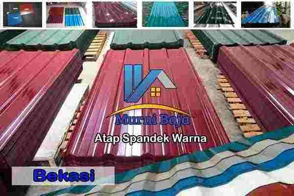 Harga Atap Spandek Warna Tambelang, Jual Atap Spandek Warna Tambelang, Harga Seng Spandek Warna Tambelang