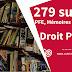 279 sujets de mémoire et thèses de Droit Public