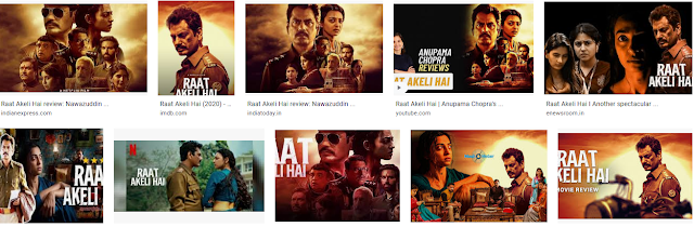 New Movie: Raat Akeli Hai  Review | ashoppingreviwa.com