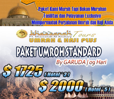 Umroh murah khazzanah tour dan travel