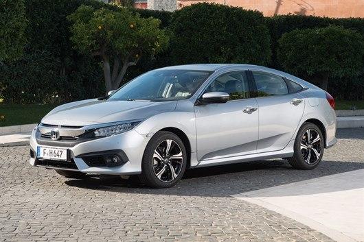 2018 New Honda Civic saloon front view