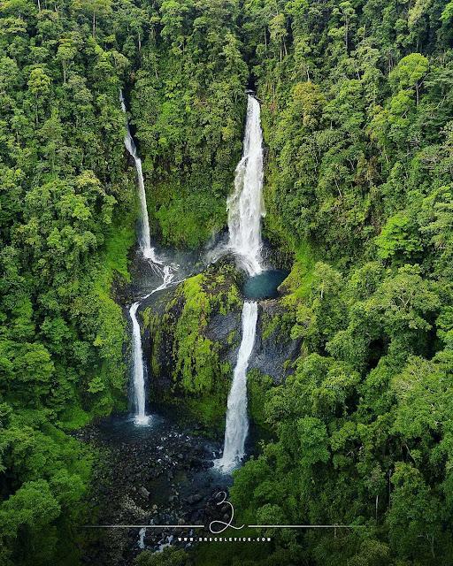 Wonderful Nine-level Waterfall