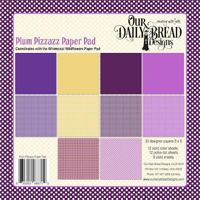 Plum Pizzazz Paper Pad
