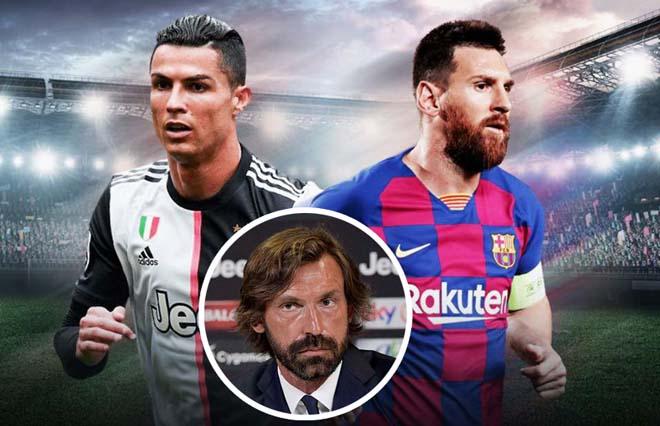 """""""Tay mơ"""" Pirlo chỉ là bình phong, Ronaldo mới là """"HLV"""" chỉ đạo Juventus?"""
