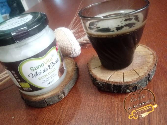 Cafea cu aromă de cocos, cafea cu ulei de cocos