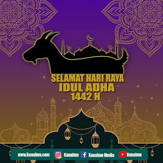 poster ucapan selamat hari raya idul adha psd - kanalmu